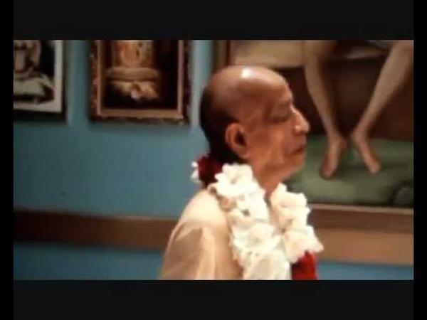 Srila Prabhupada ~ Japa Meditation *Video Footage*