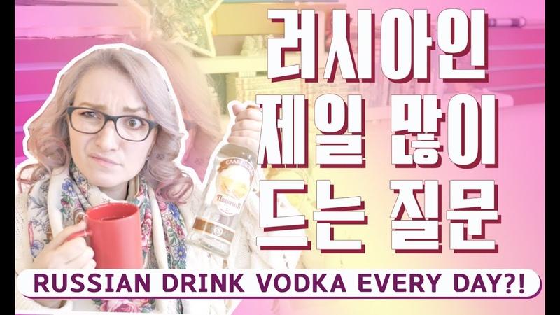 한국사람이 모르는 러시아 사람이 좋아하는 보드카는?