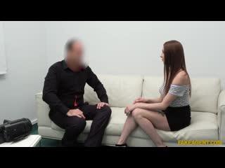 [FakeAgent] Mishelle Klein - Redhead Loves To Suck Cock