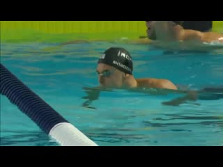 Morozov on fire v Chalmers v Adrian in mens 50m ISL Dallas
