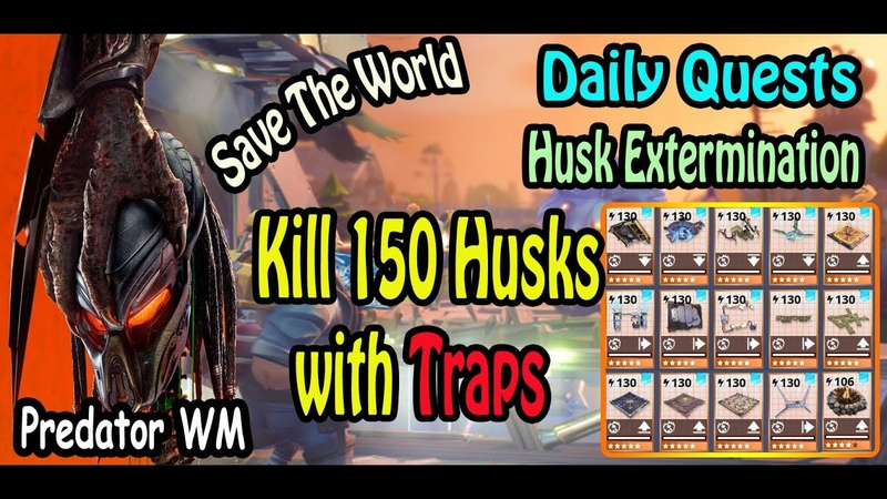Kill 150 Husks with Traps in successful missions