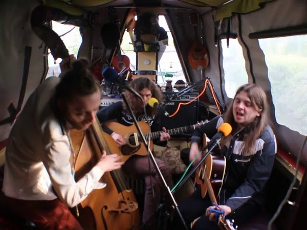 The Narrowboat Sessions 2019 The Goat Roper Rodeo Band 'High Heel Blues'