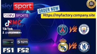 Champions league 2021 Real Madrid vs Chelsea / PSG vs Man City
