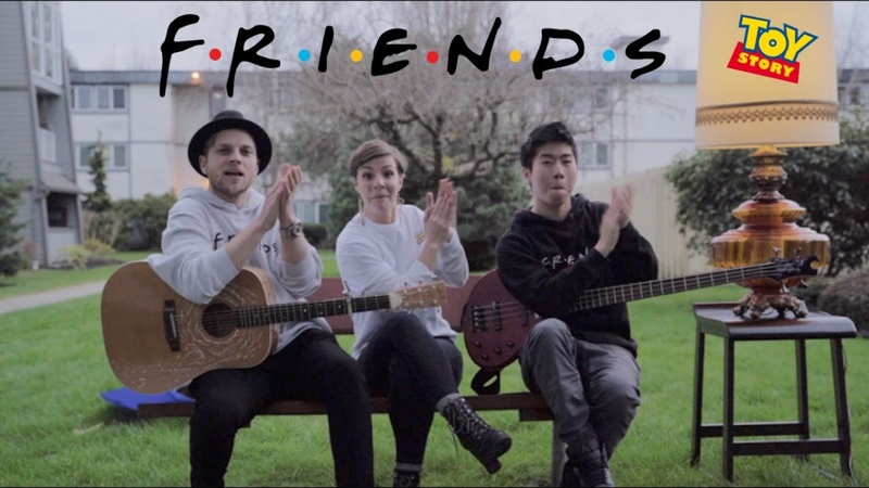 FRIENDS MASHUP Nikita Afonso Desmond Day Randy C Toy Story Friends Theme Song Acoustic Cover