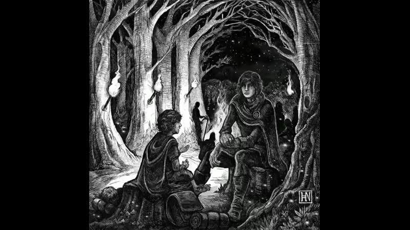 Frodo's meeting with Gildor