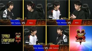 Topanga Championship 2020 🔥 Moke vs Fujimura vs Momochi: もけvs藤村vsももち 🔥 Street Fighter V - CE