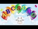 Английский алфавит. Песня для детей. Abc song for children.