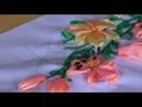 КОМПОЗИЦИЯ БУКЕТ ИЗ ЛИЛИЙ Вышивка лентами «Шёлковое чудо». Руководитель Земзюлина В.В.
