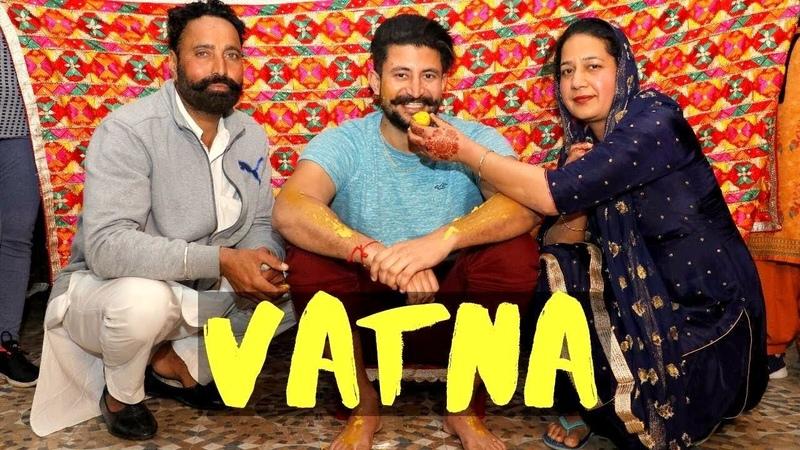 VATNA Ceremony | Jago DJ | Gidha Bhangra | Punjabi Sikh Wedding | Punjabi Vlogger Wedding