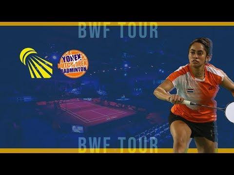 Julie Dawall Jakobsen vs Evgeniya Kosetskaya WS QF YONEX Dutch Open 2019