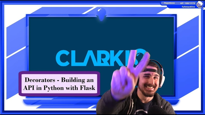 January 29 2020 🐍💻 Login Decorator Building an API in Python with Flask