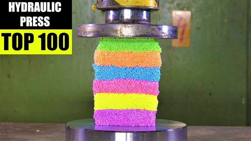 Top 100 Best Hydraulic Press Moments Satisfying Crushing Compilation