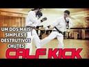 Chute simples e destrutivo low calf kick tutorial Kudo MMA japonês