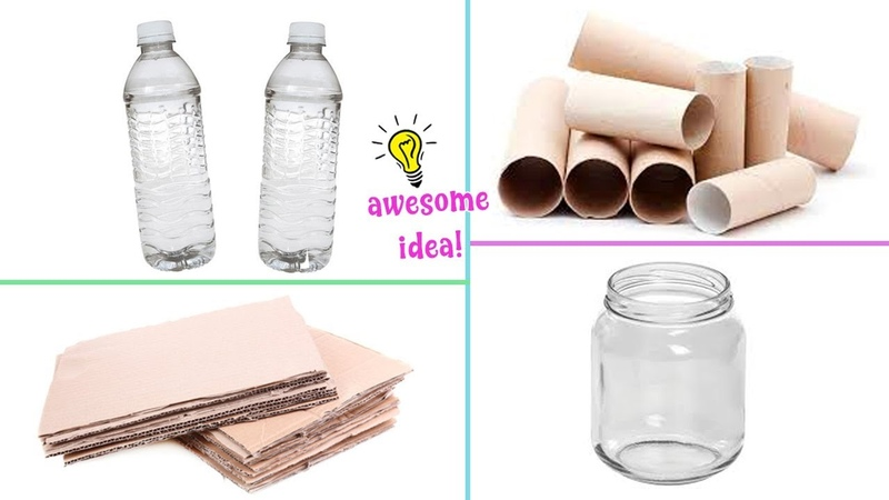 4 SIMPLY AND FAST DIY's YOU CAN MAKE WHEN YOU'RE BORED Best Reuse Idea