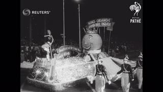 USA: Parades in California and Florida (1957)