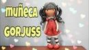 Gorjuss | cómo hacer una muñeca Gorjuss | porcelana fría | pasta flexible .