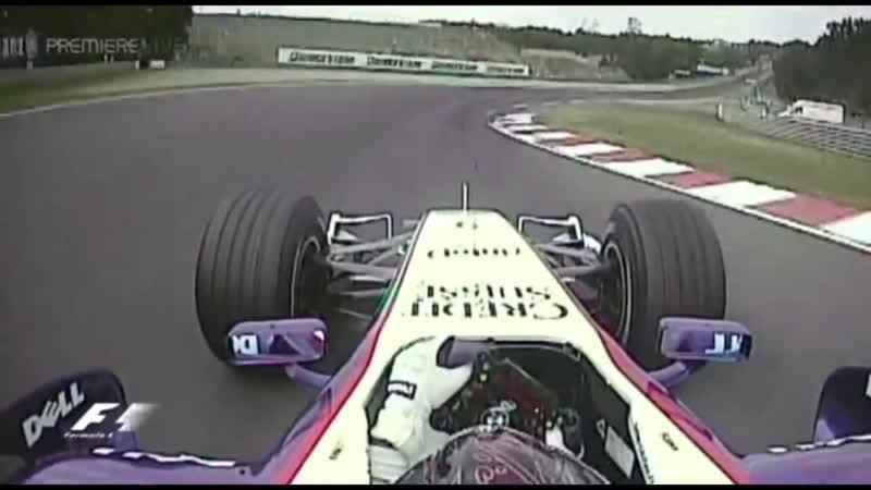F1 2006-2008 BMW-Sauber F1 Onboard V8 Engine Sounds