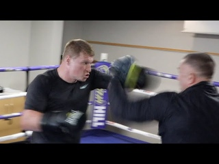 RUSSIAN BEAST! - ALEXANDER POVETKIN THROWS LETHAL, EXPLOSIVE POWER COMBINATIONS AHEAD OF WHYTE FIGHT