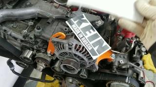 WT4T The Resurrection - Part 3. Kein alternator relocate kit install.