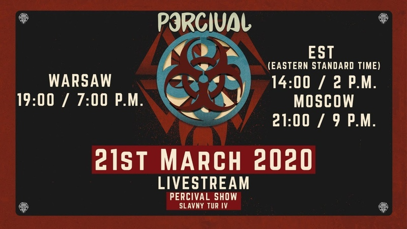 LIVE STREAM Percival Slavny Tur IV CONCERT 1