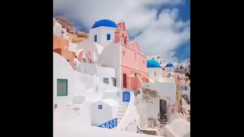 Santorini view Greece .mp4