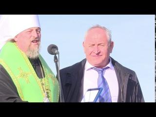 Вручение юбилейных медалей священномученика Никодима, епископа Белгородского, село Мазикино