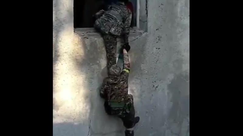 Тренировка украинских карателей из Азова