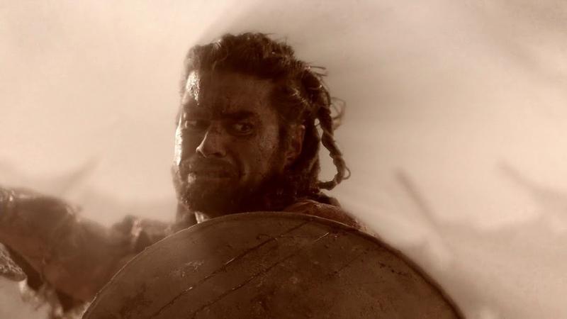 Варон рассказывает Спартаку кто такой Барка Спартак Кровь и песок
