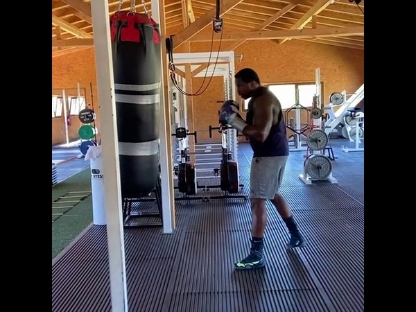 DILLIAN WHYTE IS BACK TRAINING FOR POVETKIN REMATCH