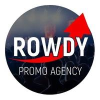 Логотип ROWDY PROMO / ПРОДВИЖЕНИЕ КОНЦЕРТОВ