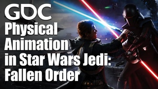 Physical Animation in Star Wars Jedi: Fallen Order