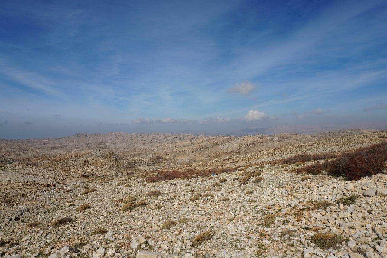 Пейзажи ливанских гор - хребты Ливан и Антиливан
