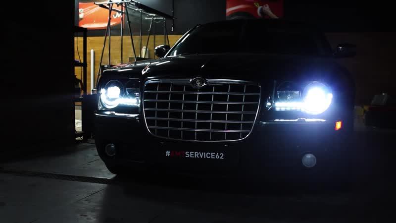 Модернизация передней оптики Chrysler 300C