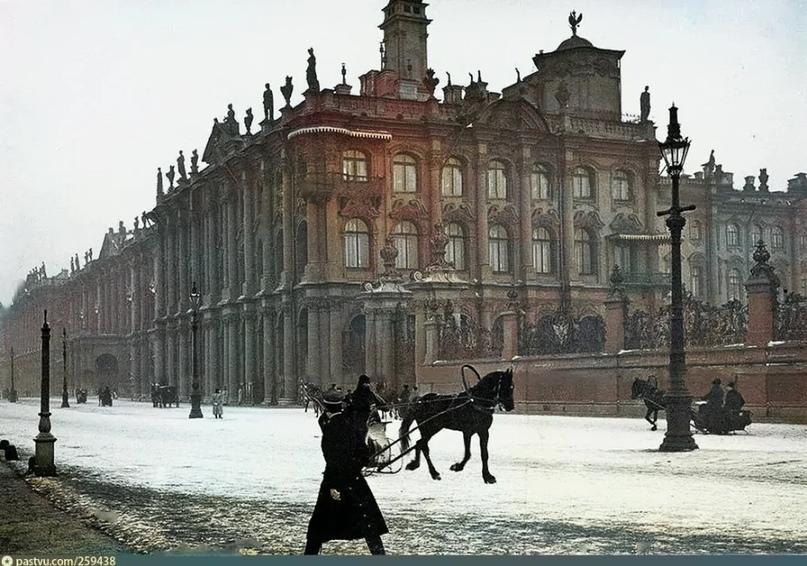 Эксклюзивные цветные фотографии Петербурга начала 20 века - часть 2, изображение №1