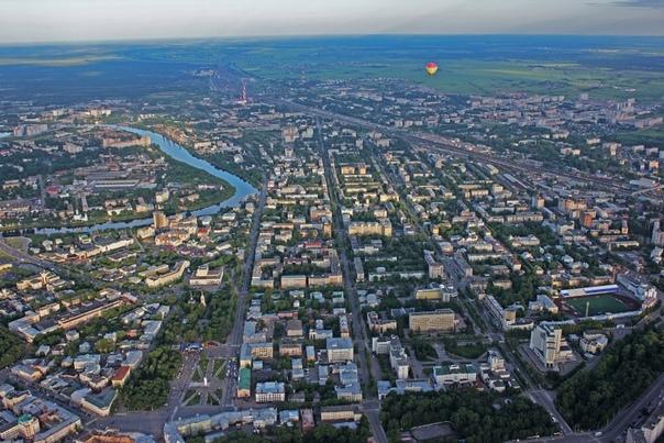 Фото вологды с высоты