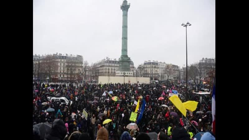 Правосудия нет нигде во Франции десятки тысяч человек вышли на акцию протеста