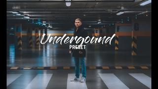 LIGHTROOM   PRESET   UNDERGROUND   SONY a6300   Instagram   Color grading   Cinematic preset