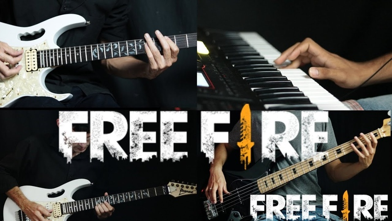 FREE FIRE - New Theme Song Guitar
