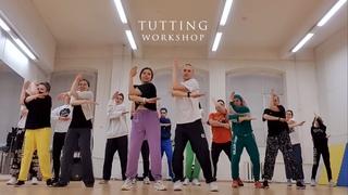 TUTTING dance workshop (king-tut) (popping/hiphop)