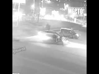 19-летняя девушка на Тойоте сбила трёх пешеходов