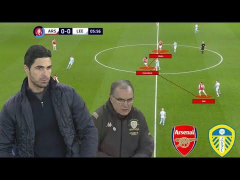 Arteta v Bielsa. A tactical feast in the FA Cp between Arsenal and Leeds United A tactical analysis