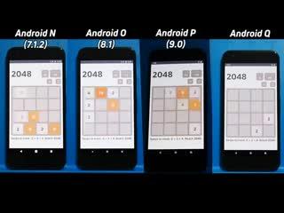 Google Pixel протестировали на производительность с 4 разными версиями Android