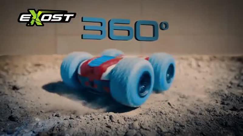 360 Cross езда вверх тормашками 720p mp4