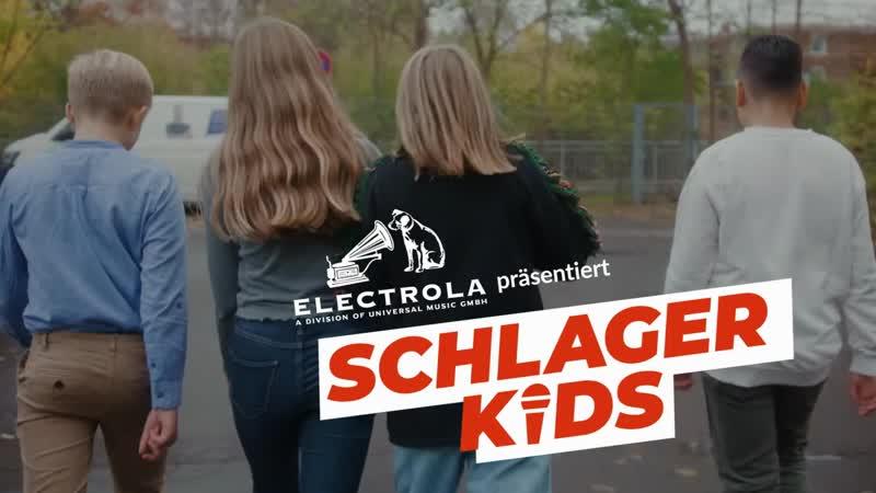 Schlagerkids Benedikta Miguel Lena Phil поют свои любимые хиты