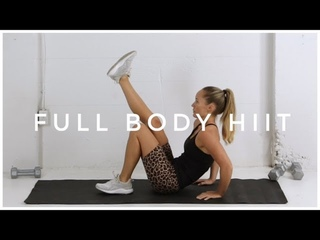 Full Body HIIT Circuit / NO REPEATS Workout