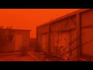Песчаные бури на днях накрыли Африку