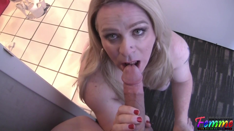 Sissy Molly Anal Sex In The Bathroom г. , Crossresser, Shemale, Sissy, Hardcore, Blowjob, Anal,