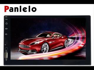 """Panlelo s4 8 cores 2g+16g 2din автомобилей радио двойной android 7 7"""" 1024x600 сенсорным экраном автомобильный"""