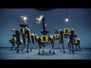 Boston Dynamics заставили своих роботов танцевать ! Boston Dynamics made their robots dance!