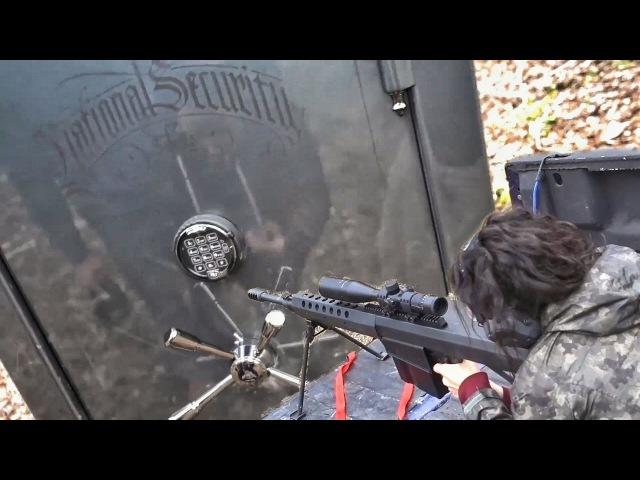 Расстрел бронированного оружейного сейфа за 9000 $   Разрушительное ранчо   Перевод Zёбры